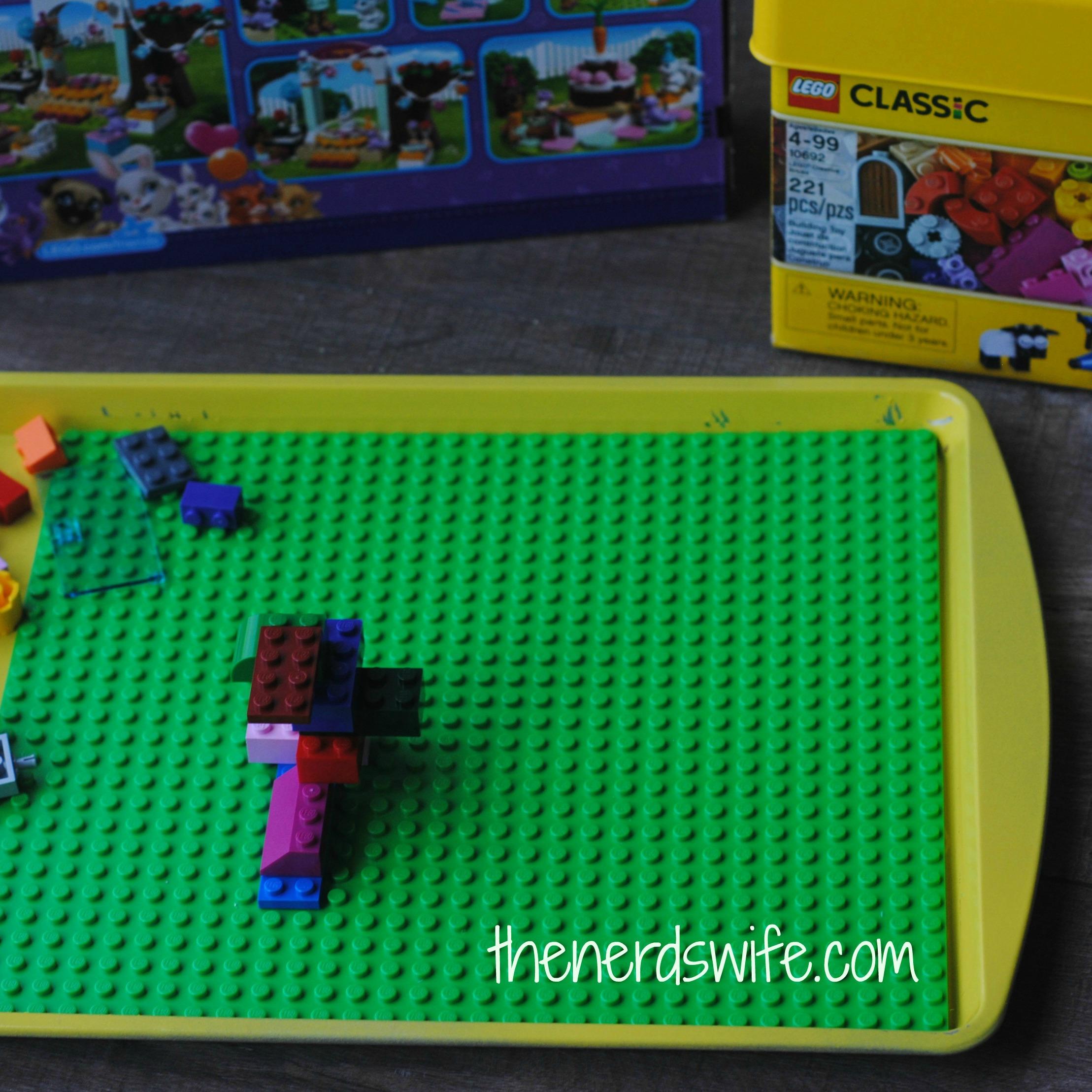 Diy Lego Travel Board With Netflix Streamteam The Nerd